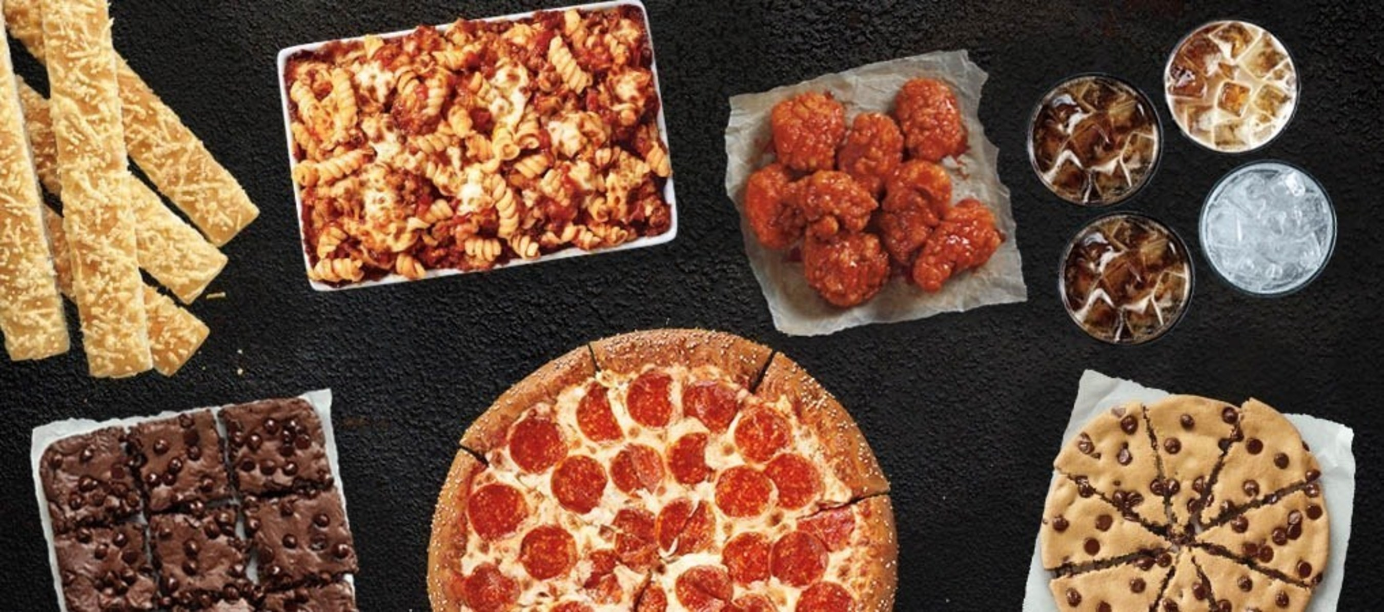 Available beginning Jan. 4, the Pizza Hut $5 Flavor Menu features a medium one-topping pizza, eight bone-out WingStreet(R) Wings, the Ultimate Hershey's Chocolate Chip Cookie, Hershey's Triple Chocolate Brownie, Tuscani Pasta, a double order of breadsticks or flavor sticks and four 20-oz. Pepsi beverages for $5 each when ordering two or more. The $5 Flavor Menu arrives at a time when consumers are most looking and asking for value - the start of the New Year.