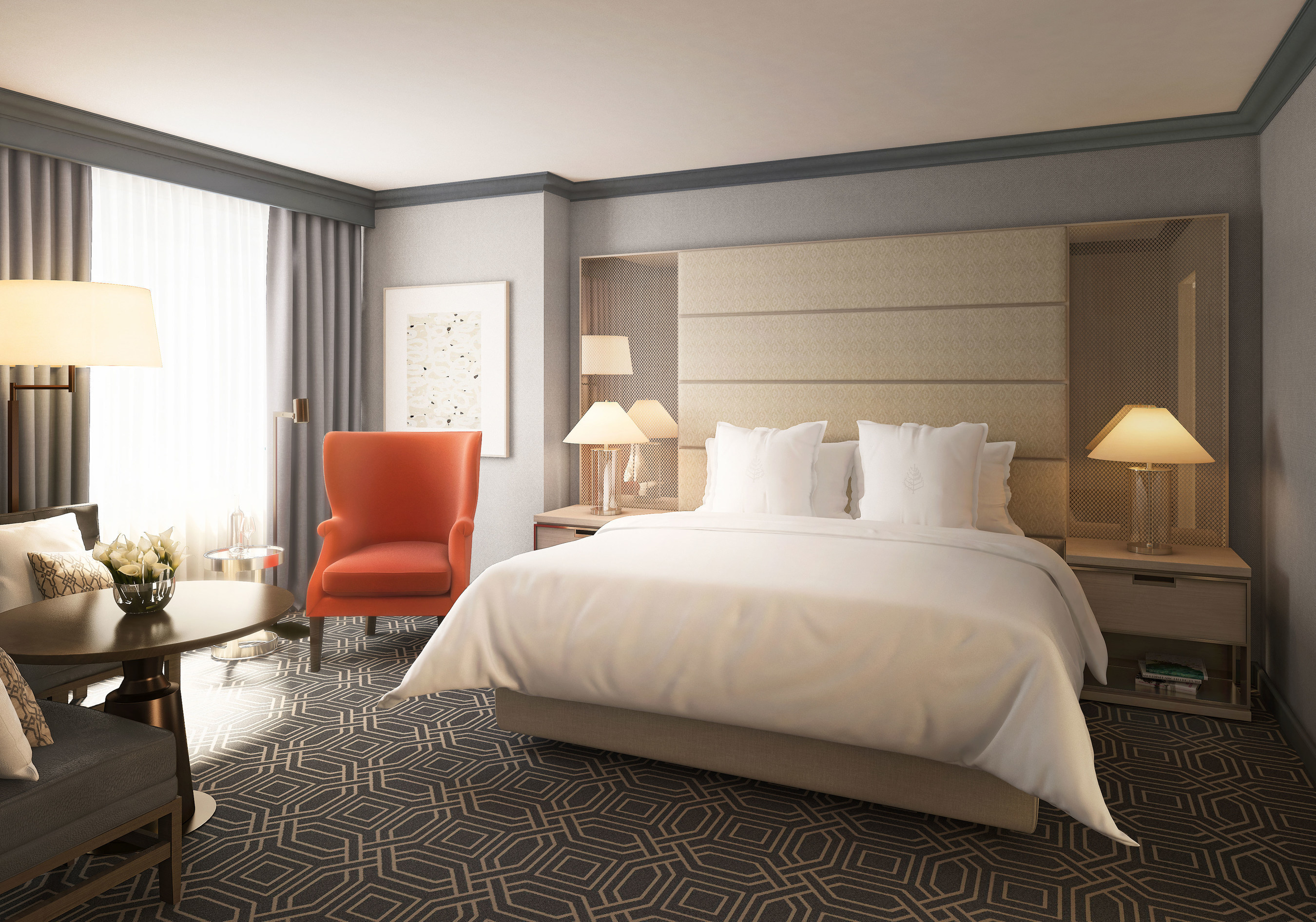 Four seasons hotel atlanta announces a luxe room refresh with modern