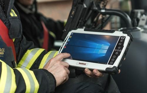 Handheld Algiz 10X rugged tablet for emergency management (PRNewsFoto/Handheld Group) (PRNewsFoto/Handheld Group)