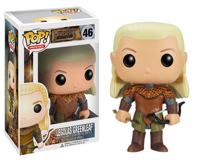 "The Legolas POP Vinyl figure from Funko is part of Warner Bros. Consumer Products' worldwide licensing program for ""The Hobbit: The Desolation of Smaug."" (PRNewsFoto/Warner Bros. Consumer Products)"