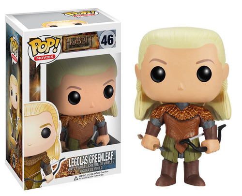 """The Legolas POP Vinyl figure from Funko is part of Warner Bros. Consumer Products' worldwide licensing program for """"The Hobbit: The Desolation of Smaug."""" (PRNewsFoto/Warner Bros. Consumer Products) (PRNewsFoto/WARNER BROS. CONSUMER PRODUCTS)"""