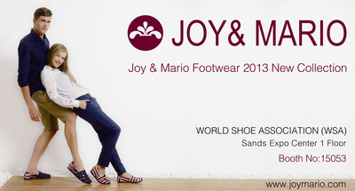 Welcome to World Shoe Association, Visit Joy&Mario 2013 New Collection.  (PRNewsFoto/JiYou Shoe Company)