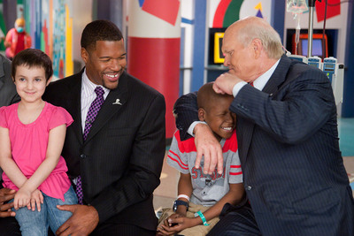 FOX Sports teams with St. Jude during 2010 NFL season.  (PRNewsFoto/St. Jude Children's Research Hospital)