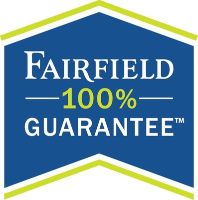 Fairfield 100% Guarantee(SM) logo (PRNewsFoto/Fairfield Inn & Suites)