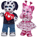 "Build-A-Bear Workshop(R) and Make-A-Wish(R) are teaming up for the second year in a row in the U.S. and for the first time internationally with their joint ""Share Your Heart"" donation campaign. Huggable Hearts Puppy and Huggable Hearts Kitty are two furry friends available this Valentine's season in Build-A-Bear Workshop stores and online, where guests in the U.S. can make a donation of $1.00 or more at checkout to help Make-A-Wish grant life-changing wishes for children with life-threatening medical..."