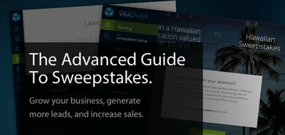 ViralSweep Releases Advanced Guide To Sweepstakes.  (PRNewsFoto/ViralSweep)