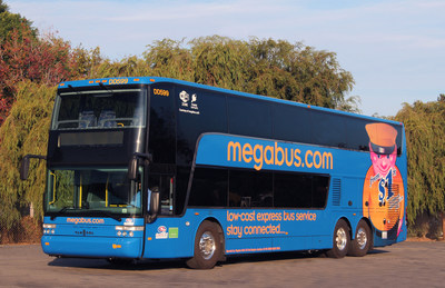 National transportation study highlights growth of megabus.com, bus industry