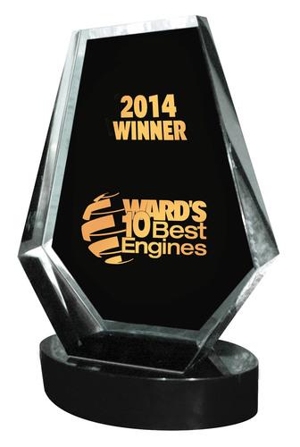 Ward's 10 Best Engines of 2014 Announced.  (PRNewsFoto/Penton)