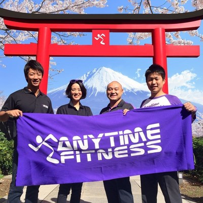 The 100th Anytime Fitness gym in Japan recently opened.