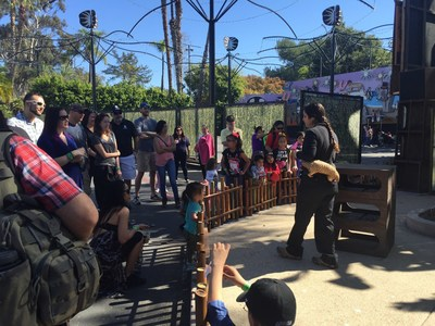 WWP Alumni and family gathered for bonding and camaraderie at the San Diego Zoo.