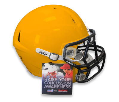 Riddell Football Helmets To Include Concussion Awareness Hangtag With Information From USA Football And CDC.  (PRNewsFoto/Riddell)