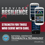 Provider Resilience, the newest app from the Defense Department's National Center for Telehealth and Technology, is the first app designed to help the military's health care providers cope with stress, burnout and compassion fatigue. The app is free for Android and Apple mobile device users.  (PRNewsFoto/National Center for Telehealth and Technology)