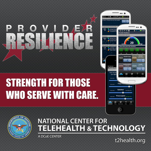 Resilience Mobile App for Military Health Care Providers