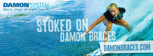 'Soul Surfer' Bethany Hamilton and Ormco Corporation Invite Adults and Teens to Enter Damon(R) System Smile Makeover Contest.  (PRNewsFoto/Ormco Corporation)