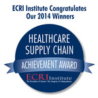 The 12 winners of ECRI Institute's 2014 Healthcare Supply Chain Achievement Award are Asante, Banner Health, Baylor Scott & White, Broward Health, HealthPartners, Medical University of South Carolina, New York City Health and Hospitals Corporation, Parkland Health & Hospital System, SCM Alliance, UCSF Medical Center, University of Miami Health System, and UR Medicine. The prestigious award honors healthcare organizations that demonstrate excellence in overall spend management and in adopting best practice solutions in their supply chain. Learn more at www.ecri.org/2014SCAA.  (PRNewsFoto/ECRI Institute)