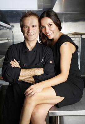 CRUST proprietors, Klime and Anita Kovaceski