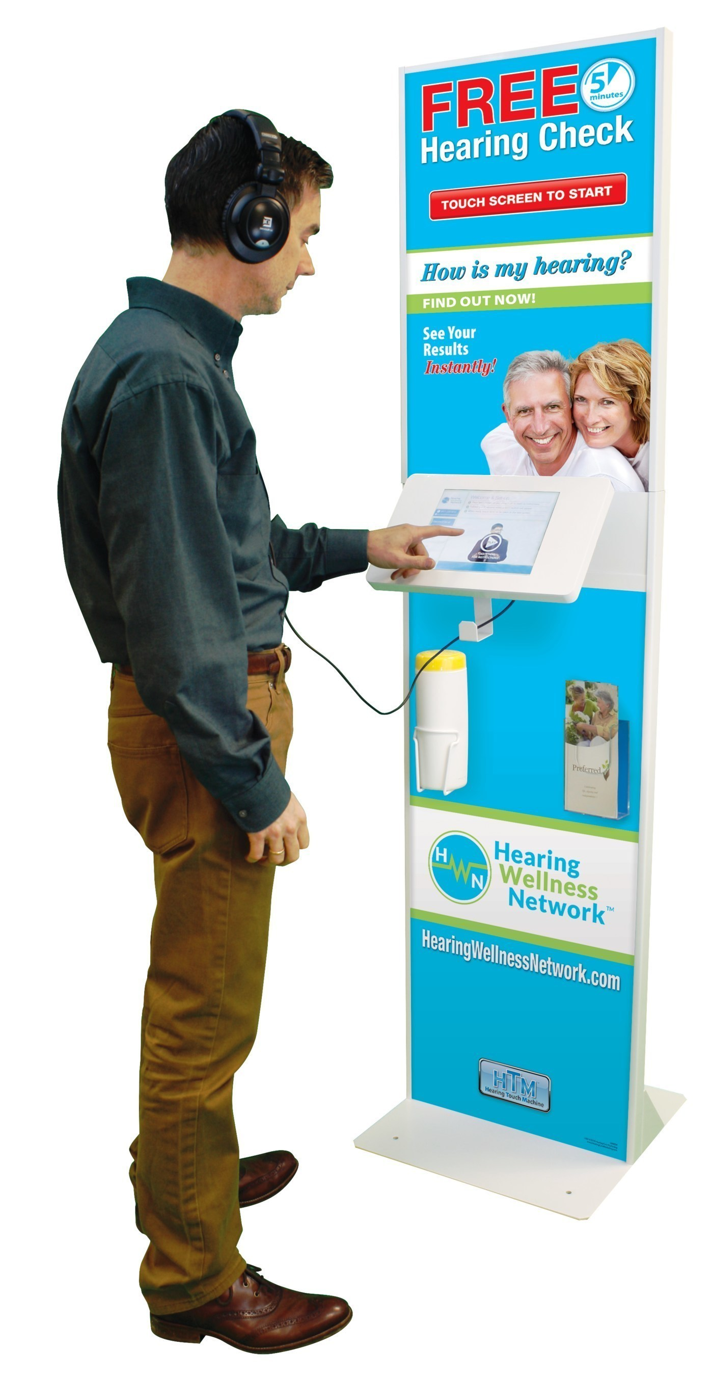 Hearing test kiosk available at 24 Albertsons Companies stores