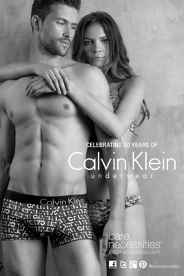 Bare Necessities Celebrates 30 Years of Calvin Klein Underwear with Tantalizing New Digital Lookbook.  (PRNewsFoto/Bare Necessities)