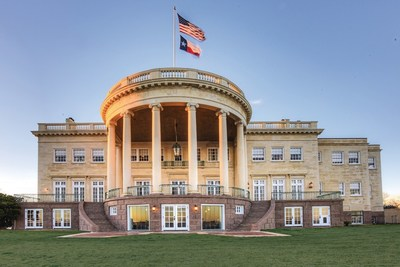 Built in 1925 by former Texas Governor Ross Sterling, the Texas White House on Morgan's Point is offered at $5.9 million by John Daugherty, Realtors.