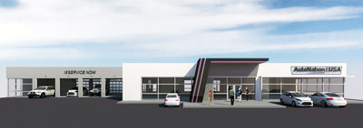 AutoNation USA store concept rendering