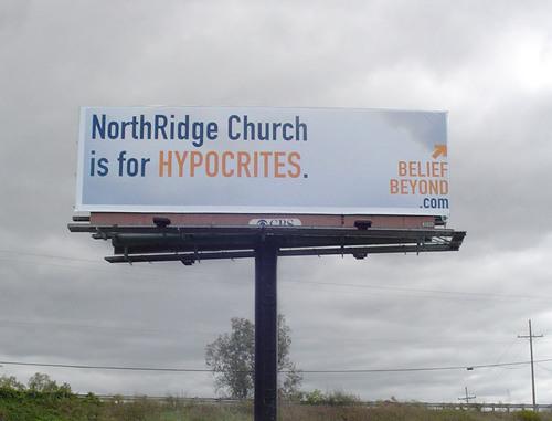 NorthRidge Church campaign challenges norms, stirs controversy.  (PRNewsFoto/NorthRidge Church)