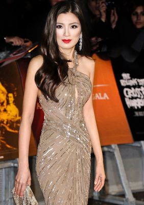 """Producer Rebecca Wang attends the premiere of """"Crossfire Hurricane"""" during the 56th BFI London Film Festival at Odeon Leicester Square on October 18th, 2012. Photo by Invision."""