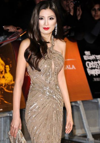 """Producer Rebecca Wang attends the premiere of """"Crossfire Hurricane"""" during the 56th BFI London Film ..."""