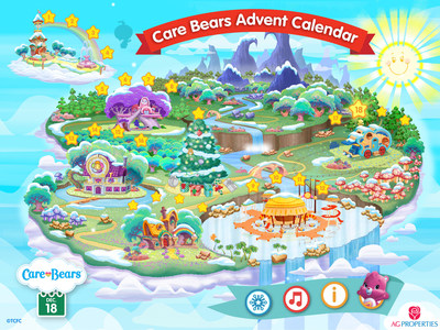 Count Down to Christmas with Brand-New Care Bears(TM) Advent Calendar! This interactive digital calendar is available for PC, Mac and iPad and brings sharing and caring to holiday anticipation.