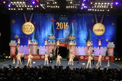 University of Kentucky Coed Cheerleading