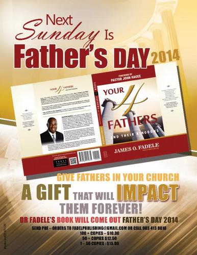YOUR 4 FATHERS AND THEIR KINGDOMS (PRNewsFoto/Dr. James O. Fadele)
