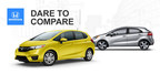 Honda Manhattan compares the 2015 Honda Fit vs. 2014 Kia Rio for local shoppers (PRNewsFoto/Honda Manhattan)