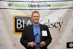Co-Founder & President of AdAgility Bryan Seastead accepts Future Stars award at BIA/Kelsey SMB conference