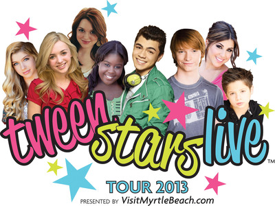 TWEEN STARS LIVE TOUR 2013 KICKS OFF IN DETROIT JULY 27 AND CHICAGO JULY 28!.  (PRNewsFoto/Tween Stars Live Tour)