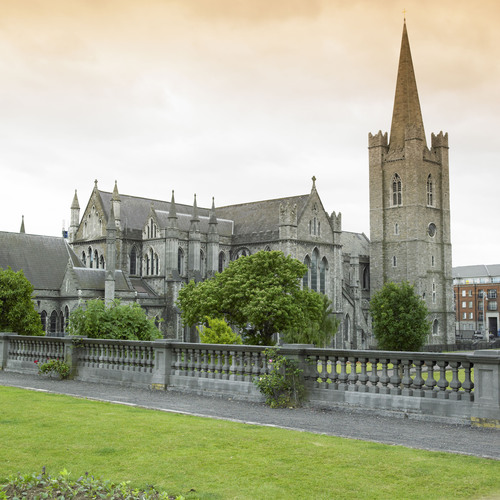 Dublin's St. Patrick's Cathedral.  (PRNewsFoto/Crystal Cruises)