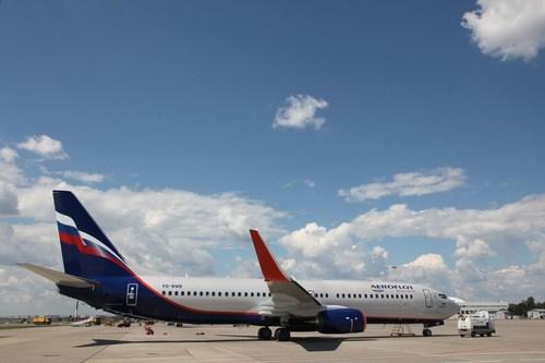 Brand New B737-800 Joins Aeroflot Fleet (PRNewsFoto/Aeroflot) (PRNewsFoto/Aeroflot)