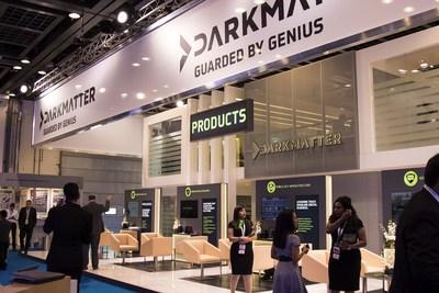DarkMatter stand at GITEX 2016 (PRNewsFoto/DarkMatter)