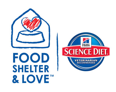 Since 2002, Hill's Food, Shelter & Love(TM) program has donated more than $240 million worth of Hill's(R) Science Diet(R) brand foods to nearly 1,000 shelters nationwide and helped more than 7 million pets find new homes.  (PRNewsFoto/Hill's Pet Nutrition)