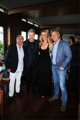 Charles Perez, Chris Botti, Caroline Campbell, and David Foster (PRNewsFoto/Infidea Studios)