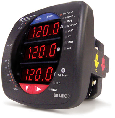 Shark 50 Multifunction Meter.  (PRNewsFoto/Electro Industries/GaugeTech)