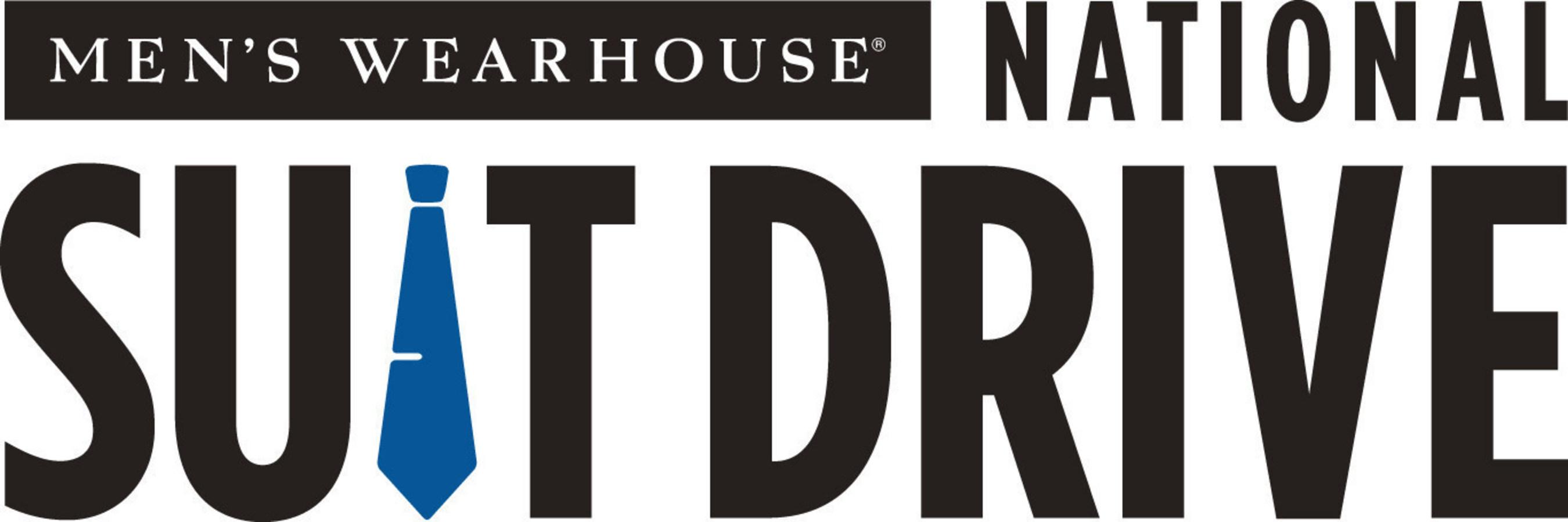 Men's Wearhouse National Suit Drive Logo