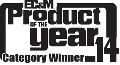 Electro Industries' MP200 High-Density Multi-Point Metering System is Named EC&M Magazine's Product of the Year 2014 Category Winner, Metering & Monitoring Equipment.  (PRNewsFoto/Electro Industries/GaugeTech)