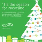 52% of consumers plan to reuse paper and ribbons from previous holidays.