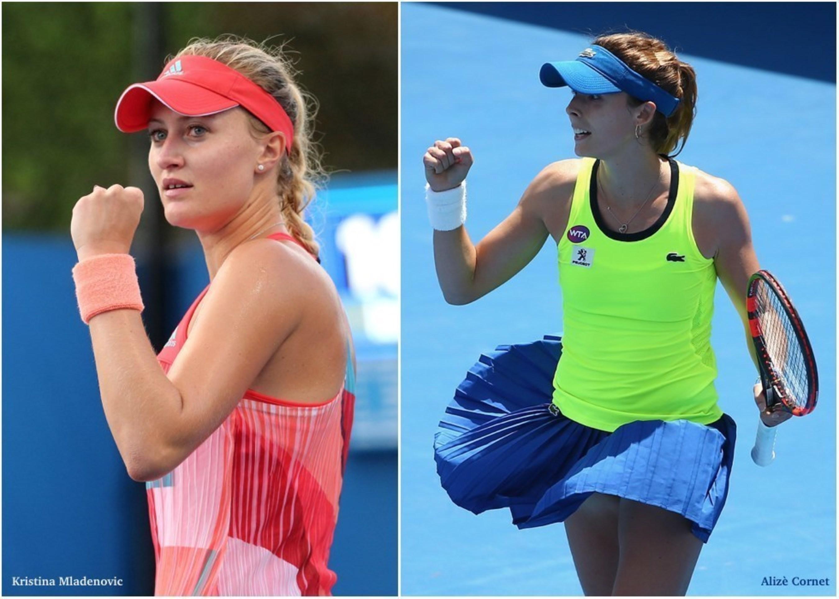 Les stars Françaises de la WTA Kristina Mladenovic et Alizé Cornet sont les nouvelles partenaires