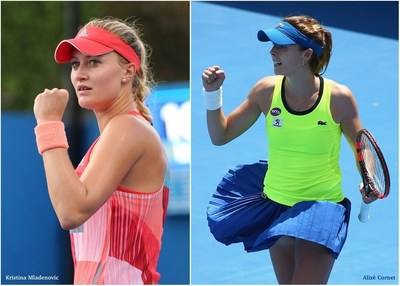 Kristina Mladenovic and Alizè Cornet (Photo by Getty Images)
