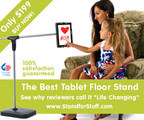 The Best Tablet Floor Stand (PRNewsFoto/Stand For Stuff)