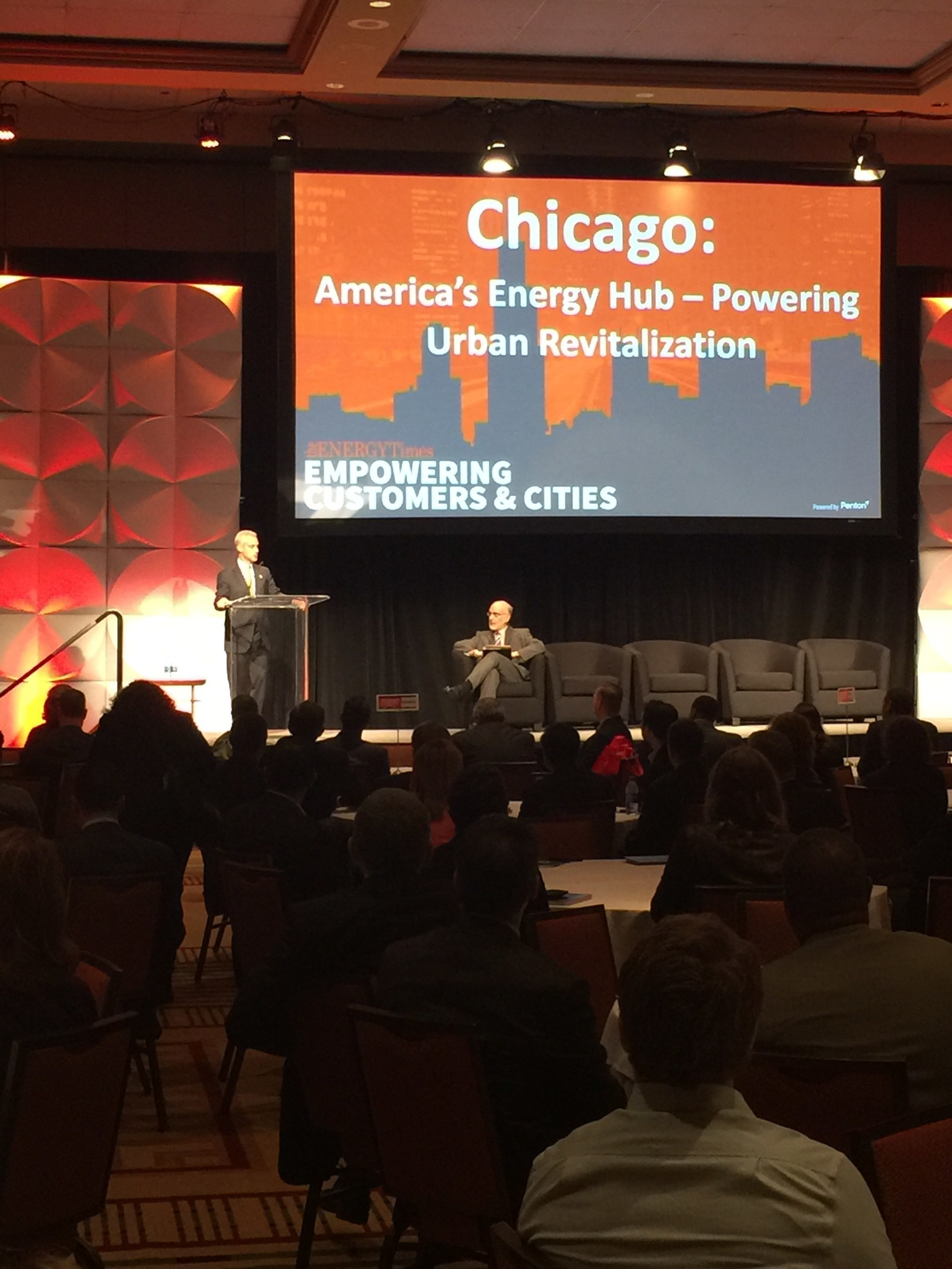 Energy Leaders Tackled Critical Issues at Penton's Empowering Customers & Cities Event in Chicago