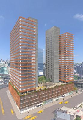 Rendering of Tishman Speyer's new Long Island City development