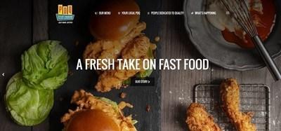 PDQ's new homepage at www.eatpdq.com