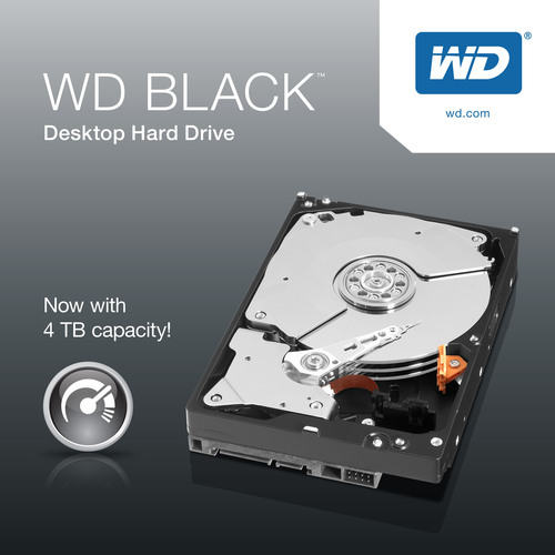 WD Black Hard Drives Now With 4 TB Capacity.  (PRNewsFoto/WD)