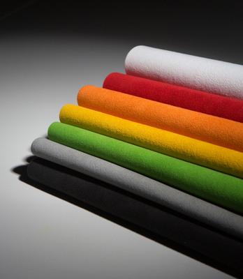 Alcantara color options. (PRNewsFoto/Alcantara) (PRNewsFoto/ALCANTARA)
